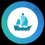 Logo OpenSea