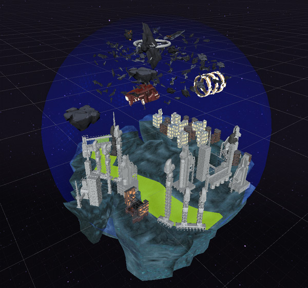 Tweaking Unity 3D and Its Plugins for The Procedural